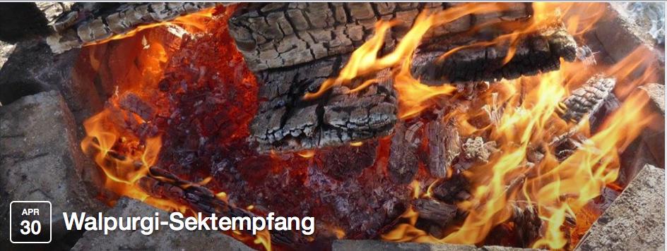 Walpurgi-Feuer
